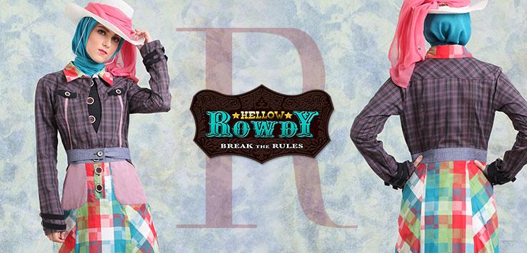 Dalam koleksi terbaru kali ini Tuneeca mencoba untuk menggabungkan gaya  country dan vintage androgini. Hellow Rowdy! Memberikan sentuhan kasual d00abd2e45