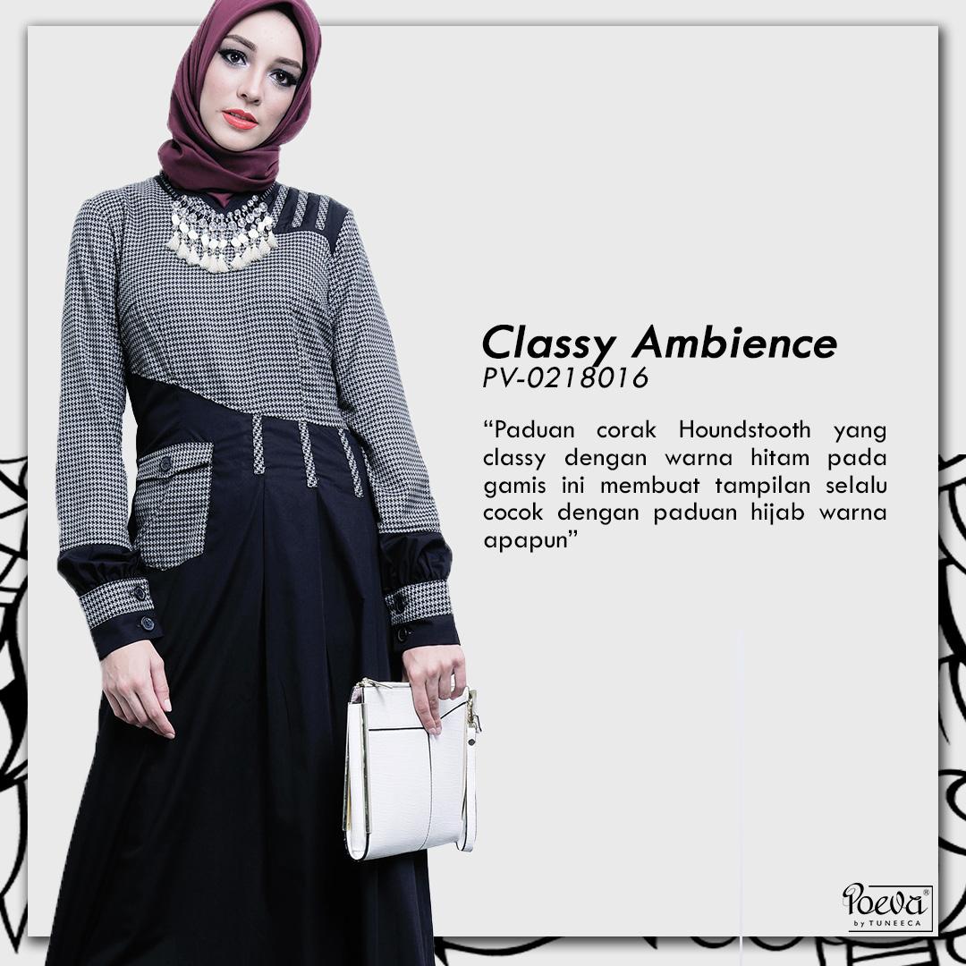 Fashion Baju Garis Hitam Putih